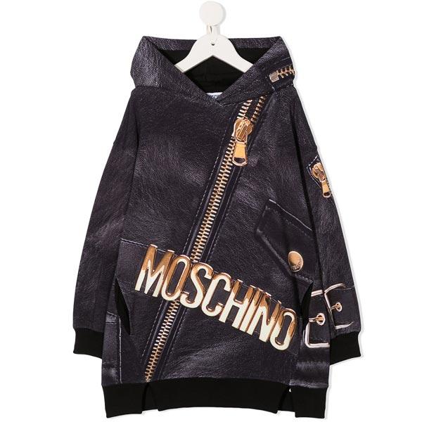 Maelle - Moschino - Abito Zip nero