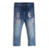 Maelle - Denim Skinny Pants with Sequins - Guess