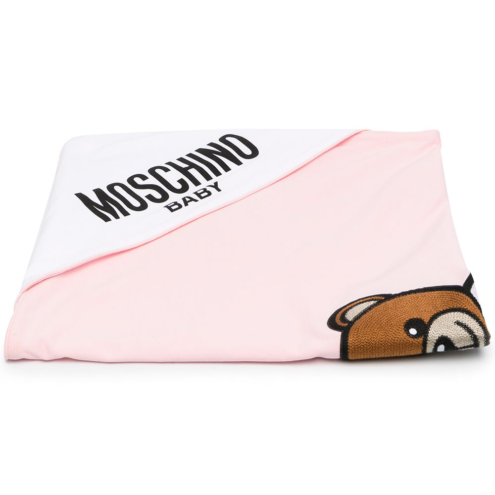 Coperta Sugar rose moschino baby