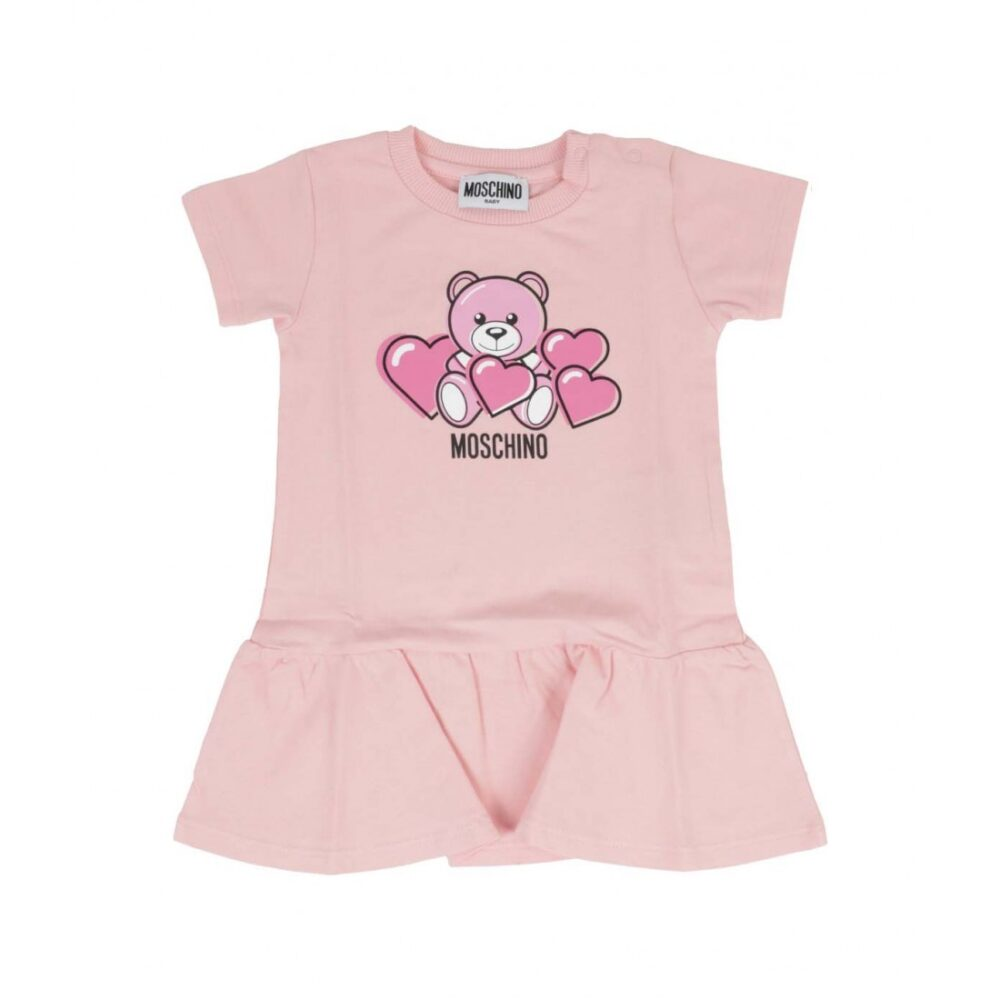 abito sugar rose moschino kids