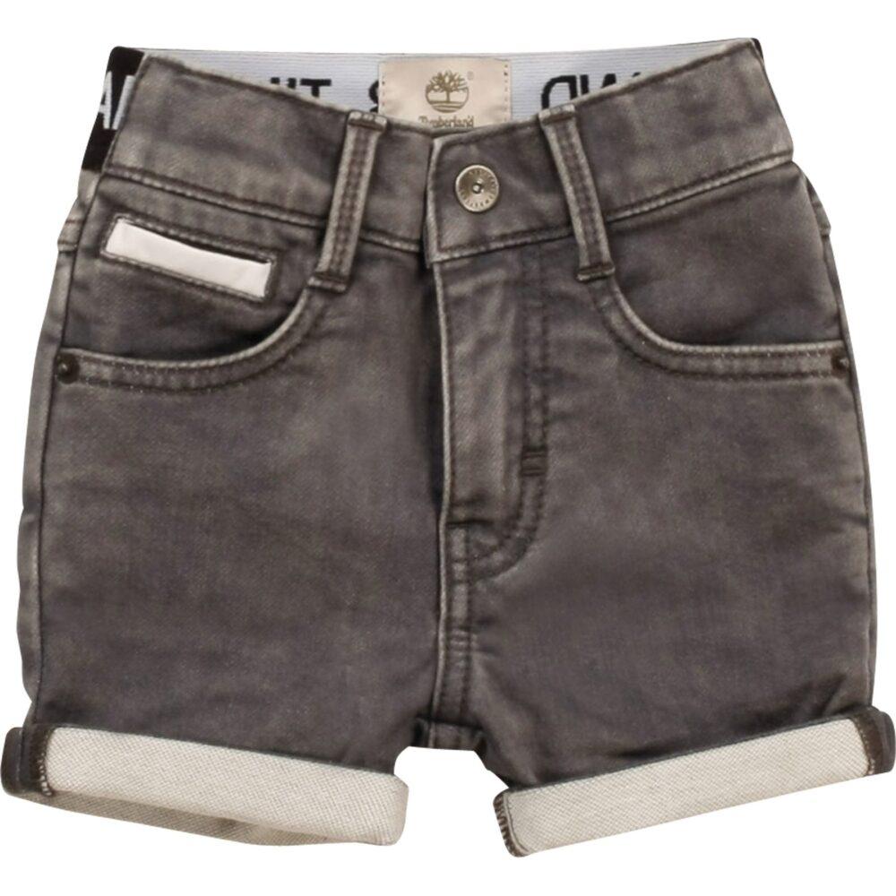 Bermuda jeans con risvolto timberland
